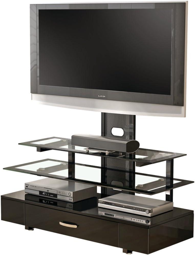 Z-line sincronización Soporte de Mesa 3 en 1 Sistema de Montaje de la televisión – Piano Negro: Amazon.es: Electrónica