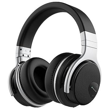 Mighty Rock E7 Cancelación Activa de Ruido Auriculares Bluetooth de Diadema Inalámbricos, Cascos Bluetooth con
