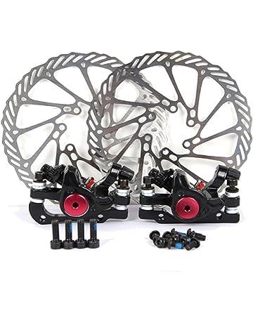 Yorbay Disco de Freno NV5 G3 160mm para Bicicleta Negro con Kit de Tornillos (Negro