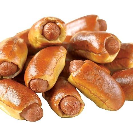 Super Mini Beef Hot Dog Soft Pretzel 60 Per Case
