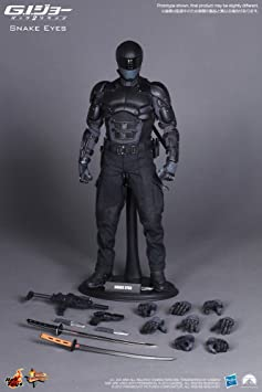 Snake Eyes 1//6 Scale Toy GI JOE x3 Hand Set