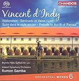 Vincent d'Indy: Orchestral Works, Vol. 6