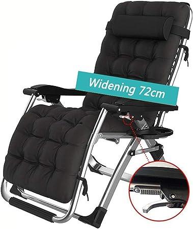 Chaise pliante réglable de chaise longue de patio de gravité