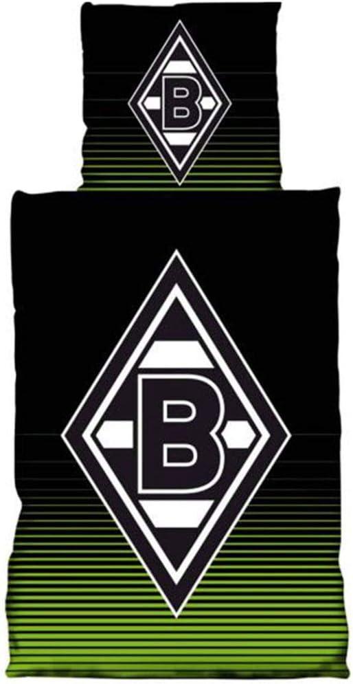 Borussia Mönchengladbach Bettwäsche 135x200 cm Abel 100/% Baumwolle Fanartikel