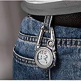Clip on Multi-Function Digital Carabiner Watch