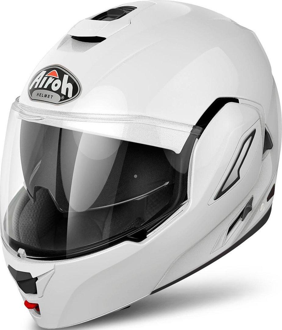 RE14XS Airoh Rev Color Flip Front Motorcycle Helmet XS White