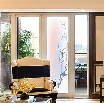 Amazon.com: C COABALLA Decorative Window Film,Asian Decor ...