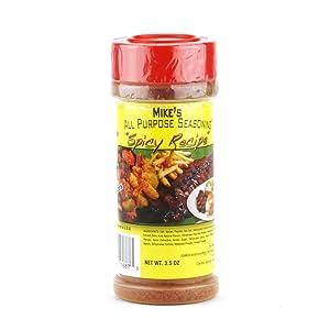 Mike's All Purpose Seasoning - Spicy Recipe