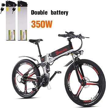 Shengmilo Bicicleta eléctrica Plegable,Shimano & XOD, 26 Pulgadas ...
