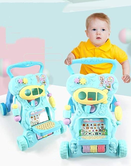 MINISU Infantil Baby Walker para prevenir la música Multifuncional ...