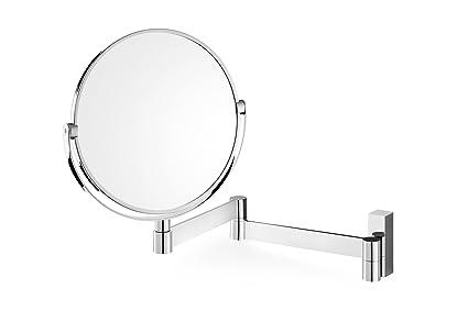 Zack specchio grigio acciaio 4 2 x 32 x 26 cm: amazon.it: casa e