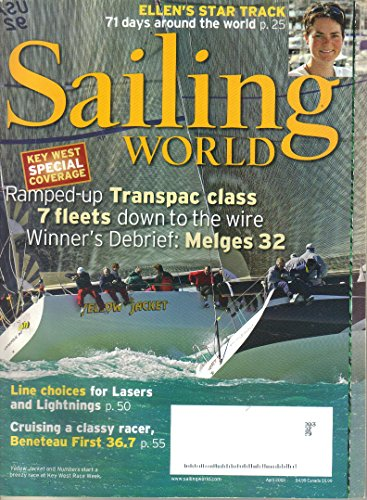 Sailing World Magazine, April - Tom Terry Ford