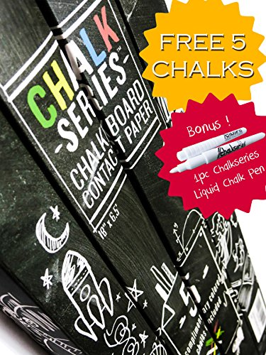 ChalkSeries Chalkboard Contact Colored Chalks
