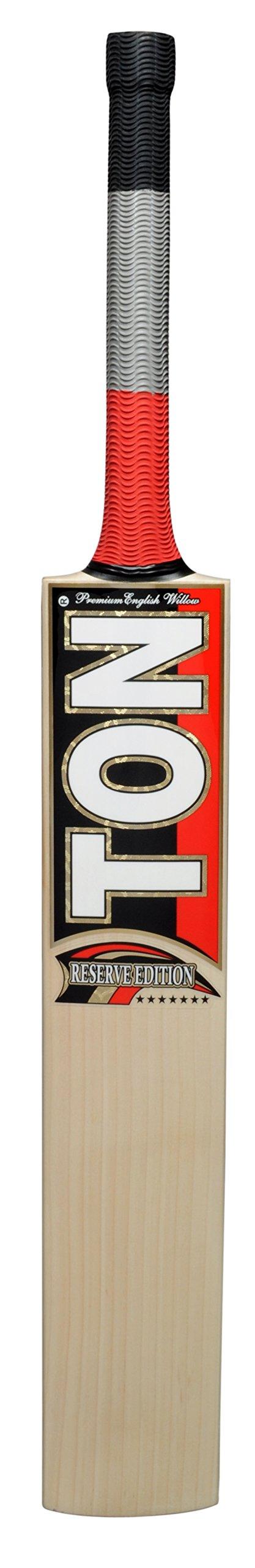 SS Men's Ton Reserve Edition Cricket SH Bat, Medium