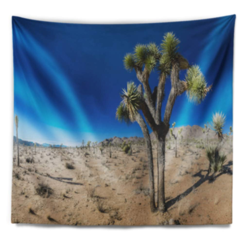 Created On Lightweight Polyester Fabric x 32 in 39 in Designart TAP15168-39-32  Joshua Tree in Open Desert Landscape Blanket D/écor Art for Home and Office Wall Tapestry Medium