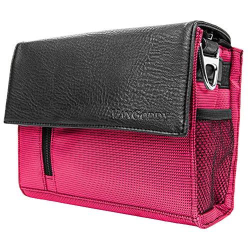 Men's Nylon / PU Photo Shoulder Bag Magenta Stylish Gadget Crossbody Purse for Nikon DSLR - Mens Warehouse Chat Live