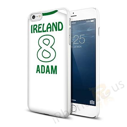 República de Irlanda Away colores personalizado camiseta de fútbol, cualquier nombre, cualquier número snap