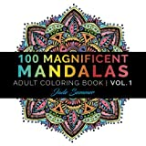 img - for Mandala Coloring Book: 100+ Unique Mandala Designs and Stress Relieving Patterns for Adult Relaxation, Meditation, and Happiness (Magnificent Mandalas) (Volume 1) book / textbook / text book