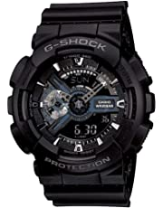 GSHOCK Men's Automatic Wrist Watch analog-digital Display and Resin Strap, GA110-1B