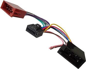 Aerzetix Z7 Iso Konverter Adapter Kabel Radioadapter Radio Kabel Stecker Iso Kabel Verbindungs Auto