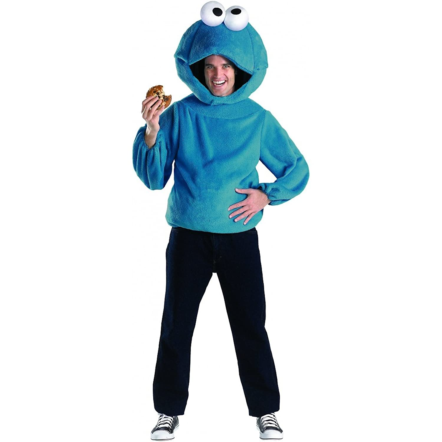 Amazon Disguise Men s Cookie Monster Adult Costume Toys & Games