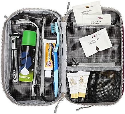 06e24c6ff047 Hynes Eagle Toiletry Organizer Bag Travel Shaving Dopp Kit Cosmetic Case  Makeup Pouch Purple