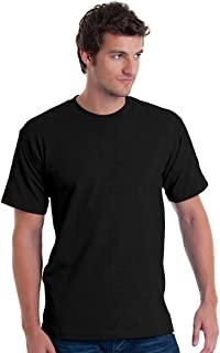 product image for Bayside Adult Short-Sleeve Tee 5040 - Black_M