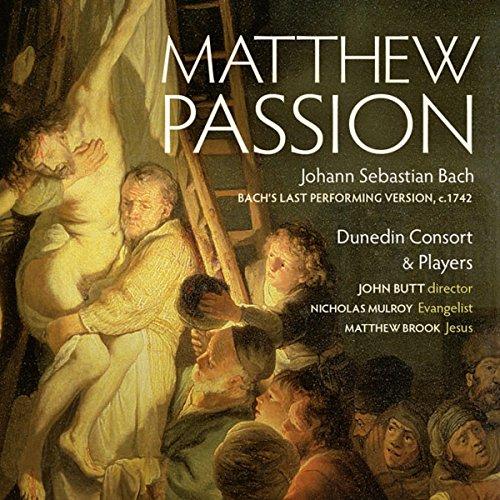 CD : NICHOLAS MULROY - MATTHEW BROOK - DUNEDIN CONSORT - Matthew Passion (3 Pack, 3PC)