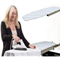 MYOYAY Built in Ironing Board Mounted Iron Board with Cover Swivel Closet Pull Out Ironing Station Stow Away in The…