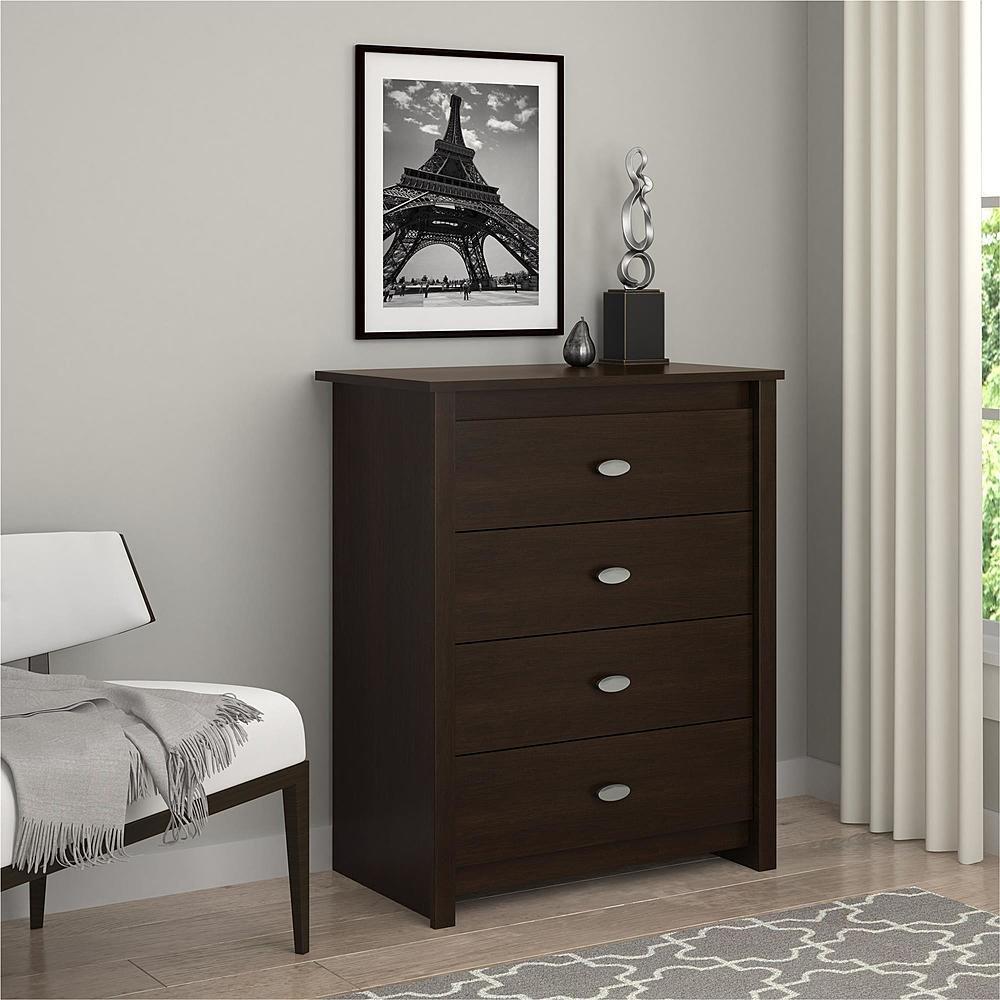 Amazon com essential home anderson 4 drawer dresser kitchen dining