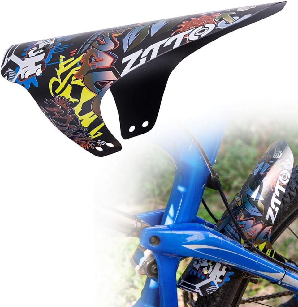 Mountain Bike Parafango per Anteriore e Posteriore Ruota MTB Parafango Attrezzo Sportivo P Prettyia Bicicletta Parafango