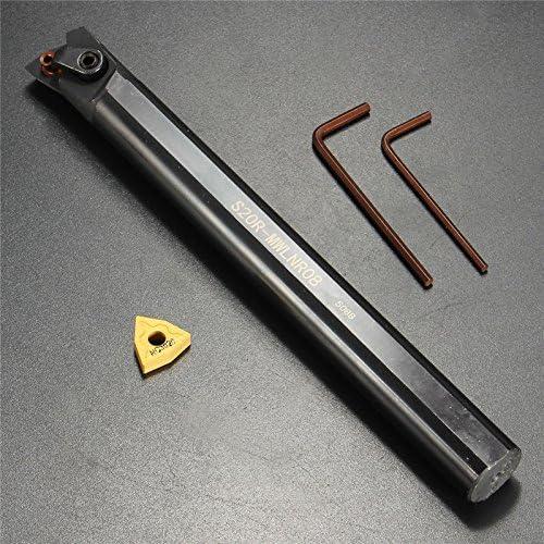 Queenwind S20R-MWLNR08 20x200mm 旋盤の回転工具のボーリングの棒のホールダー WNMG0804 の刃