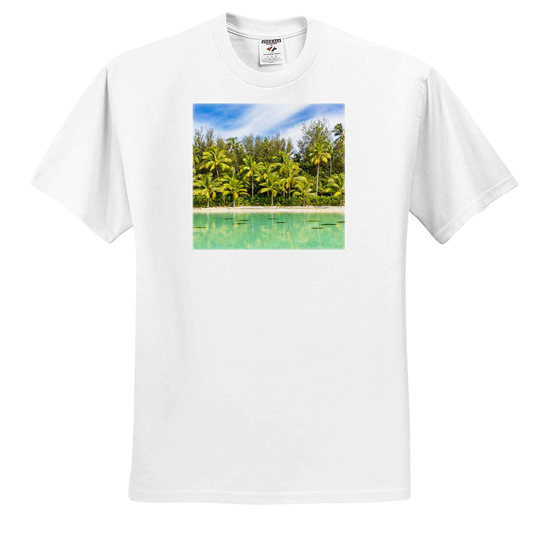French Polynesia Adult T-Shirt XL 3dRose Danita Delimont Bora Bora Tropical ts/_314032