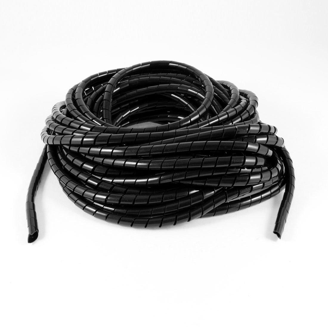 14 Meter lang PE Polyethylen 8 mm Spiral Kabel Draht Wrap Tube ...