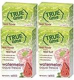 NEW FLAVOR: True Lime   WATERMELON AQUA FRESCA (Pack of 4) 10ct each box. True Lemon   True Citrus NON GMO and NO GLUTEN