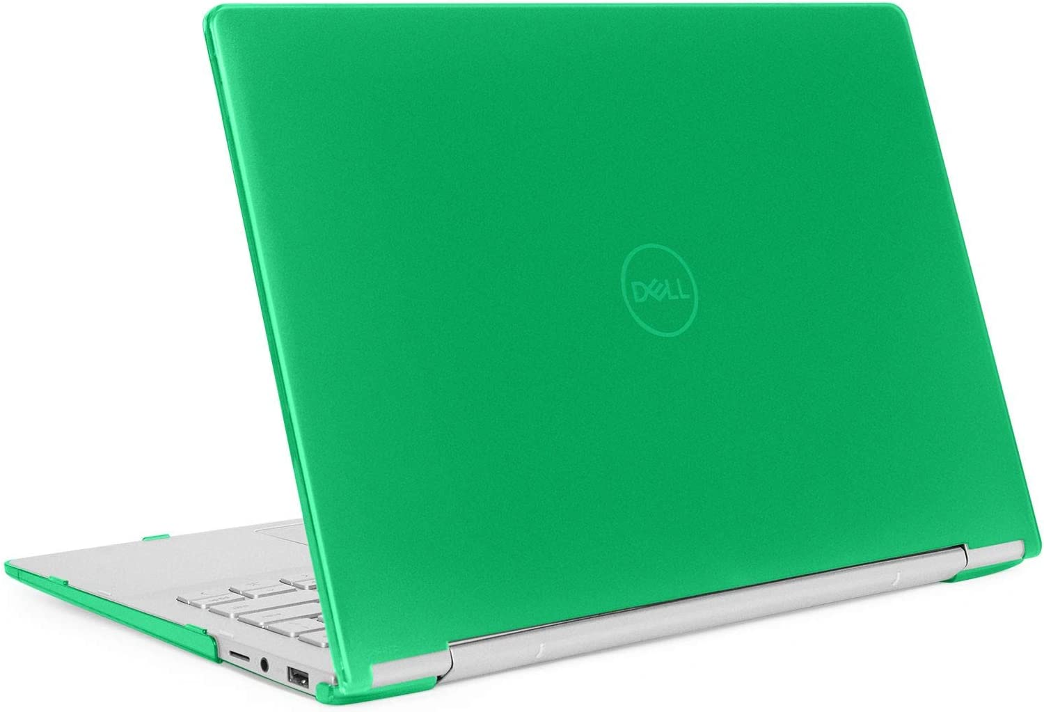 "mCover Hard Shell Case for 13.3"" Dell Inspiron 13 7391 2-in-1 Convertible Laptop Computers (Green)"