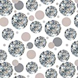 Premium Gift Wrap Wrapping Paper Roll Pattern - Love You More Most Hearts - Loose Diamonds (Image Only)