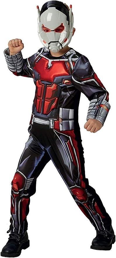 Rubies 640487L Marvel Vengadores Ant-Man Deluxe - Disfraz infantil ...