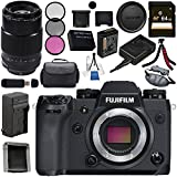 Fujifilm X-H1 Mirrorless Digital Camera (Body Only) 16568731 XF 90mm f/2 R LM WR Lens 16463668 Bundle