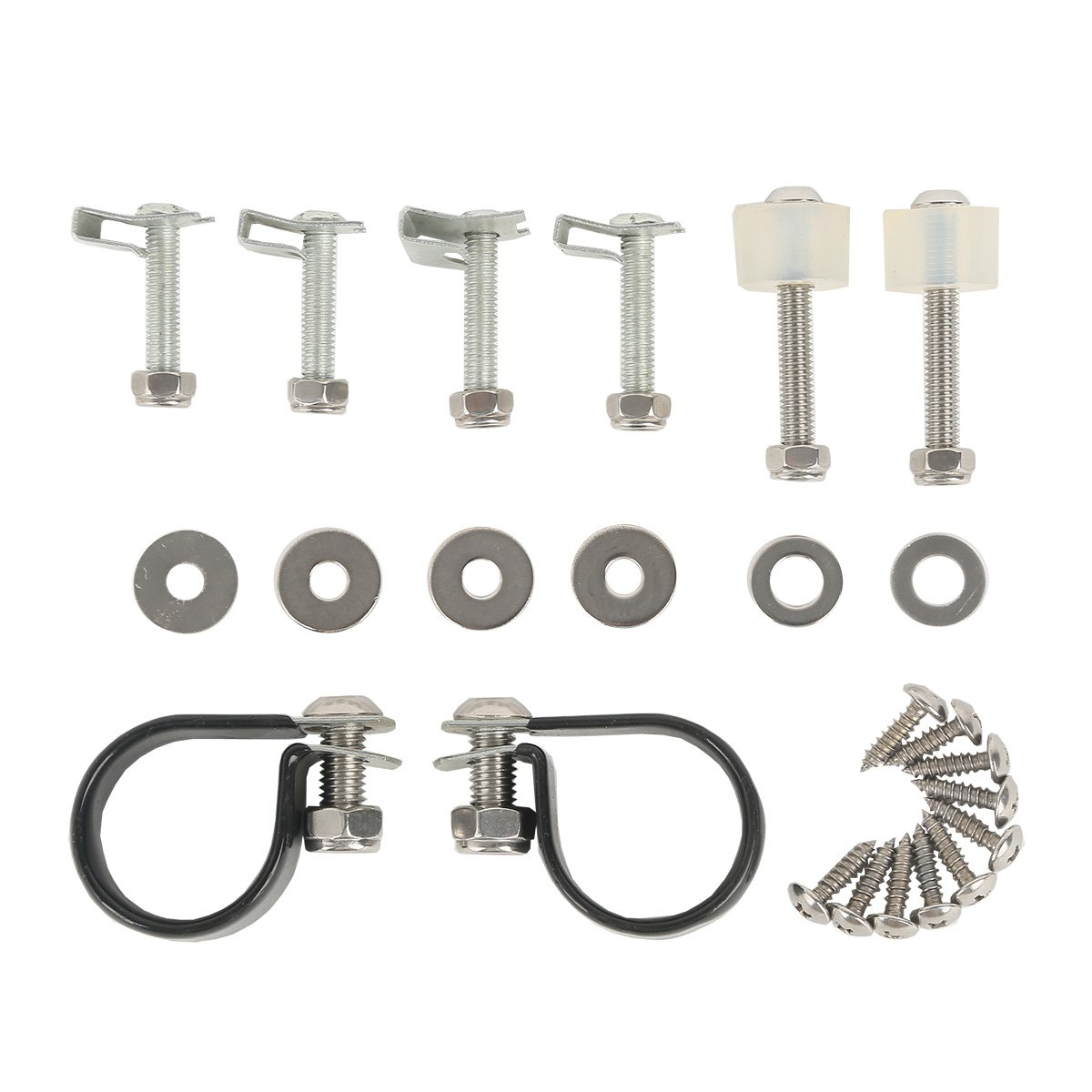 XMT-MOTO For Harley Touring Lower Vented Fairings Mounting hardware Kit Clamps Clips 83