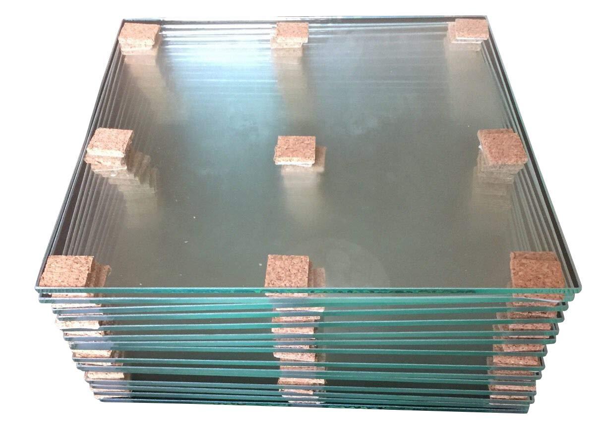 Tapes4you XYZprinting Da Vinci Floatglasplatte Druckbett Glas Heatbed 21x21cm 3mm