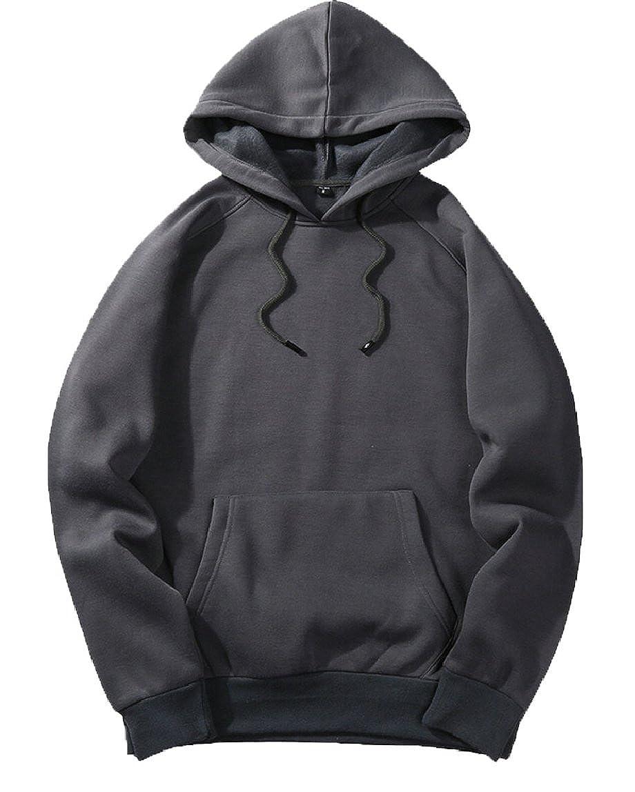 xiaohuoban Mens Top Hoodie Sweatshirts Fashion Long Sleeve Pullover Hip Hop