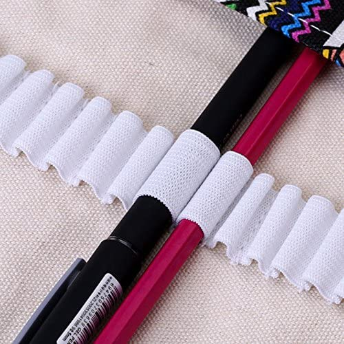Starall grande capacit/à sacchetto penne caso di scorrimento matita Wrap portamatite organizer Stationary bag 72 Holes Matite casi