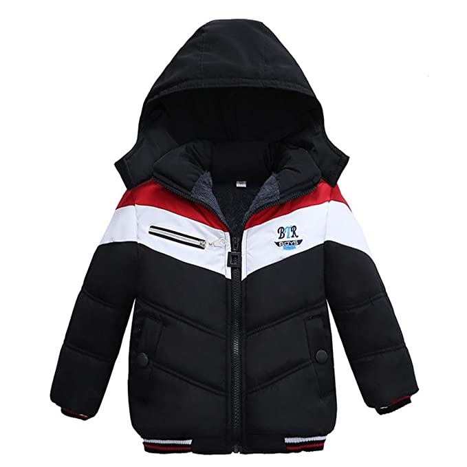 f70886e46039 Amazon.com  Pollyhb Boys Girls Thick Coat
