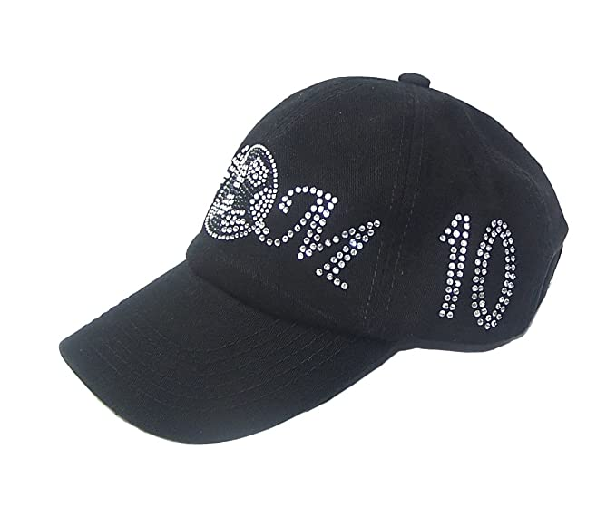 e6407718dda Image Unavailable. Image not available for. Color  Soccer Mom Rhinestone  Baseball Hat ...