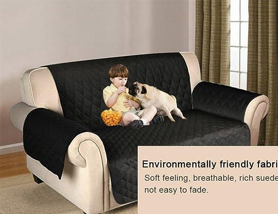Amazon.com: lohua acolchado de microfibra reversible mascota ...