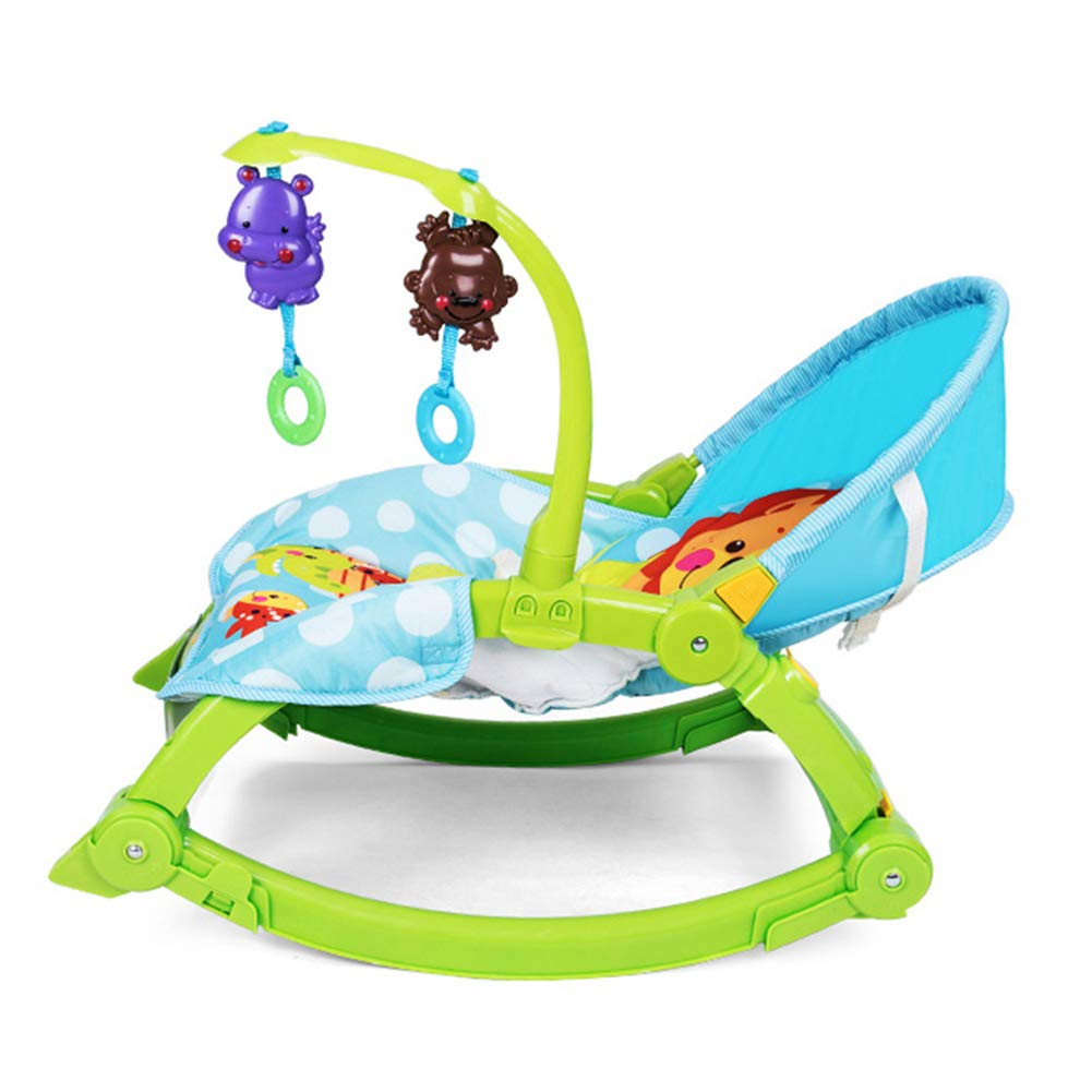 Baby Electric Multi-Function Rocking Chair, Recliner Comfort Shock Folding Portable Children Rocking Chair Seat by ZZLYY