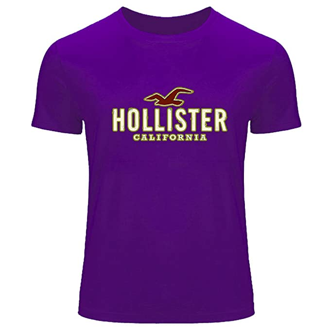 Hollister Logo Diy Printing For Mens T-shirt Tee Outlet