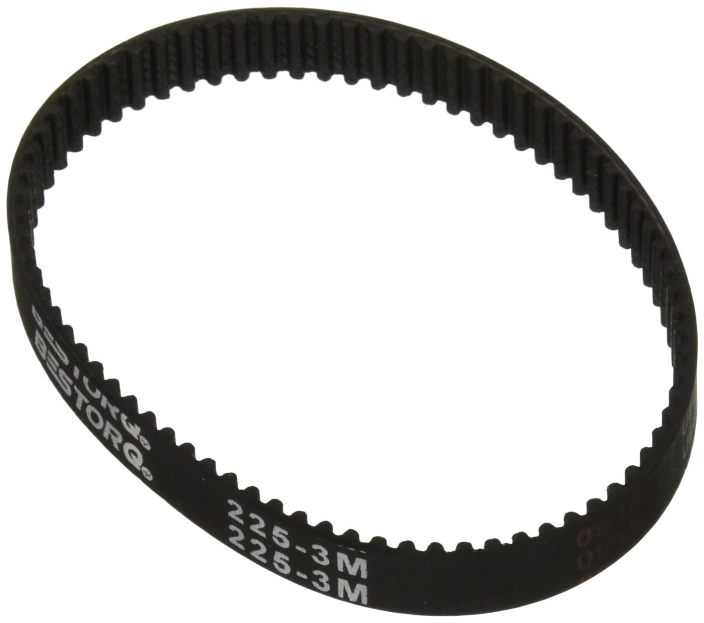 74 Teeth 9 mm Width Rubber 222 mm Outside Circumference BESTORQ 222-3M-9 3M Timing Belt 3 mm Pitch