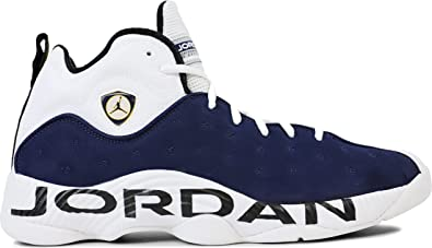 Mens Air Jordan Jumpman Team II Midnight Navy White Varsity Maize  819175-417 US 10.5